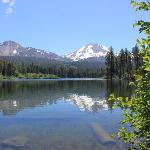 View from the other side of Manzanita Lake