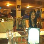 dinner with friends at Luna Marina Restaurant