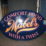 Mabel's Restaurant Sign