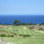 Hapuna Hole 12 Par 4 with ocean view