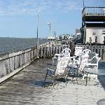 Deck of Restaurant