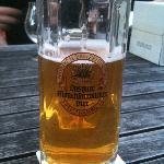 Beer in the garden!