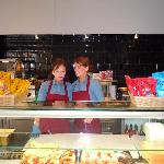 Cheerful friendly staff