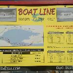 One of the many boat transfers