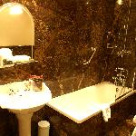 Bathroom at Rampsbeck Hotel