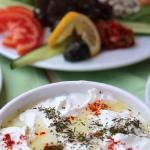 A few of the mezes at Palmiye Restaurant