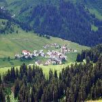 Zur village next to Lech.