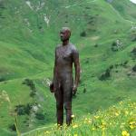 Gormley's Sculptures in the moutains.