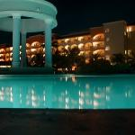 Night view of Rosehall Suites