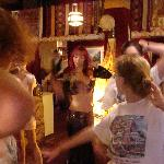 Belly dancing lessons at the Casbah