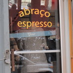 """Abraco"" means embrace in Portuguese"