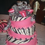 """Livvy""""s first bday cake"""
