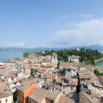 View of Sirmione from the castle