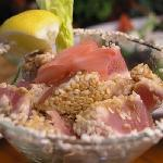 Sesame Crusted Tuna appetizer