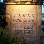 Signage of Taman Indrakila