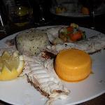 Denti fish main course