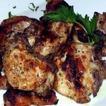 Marinated & grilled chicken