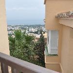 view from El Porton on sea