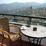 View from the balcony at Apt. Rosamarina