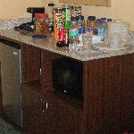 In Room Refrigerator/Microwave/Storage