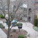 Beautiful inner courtyard