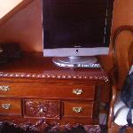 Tv and drawer