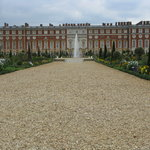 Hampton Court from garden