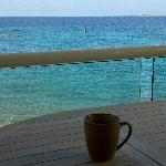 A great view for your morning coffee!