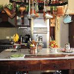 Cocina abierta... fábrica de delicias.