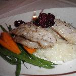 Snapper special with risotto