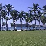 Beach and Ixtapa Island