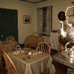 Breakfast room at Tipsy Butler Inn
