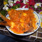 Kingfish in tomato sauce