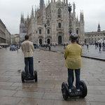 Milan's Duomo by Segway