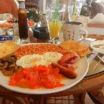 The Carlsberg breakfast