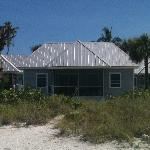 Our beach front cottage