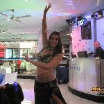 Belly dancer on Seaturday night