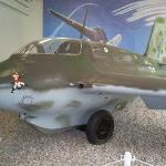 rare wwII jet fighter