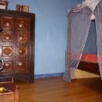 La chambre, en mezzanine