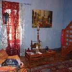 Le salon de la chambre