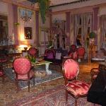 Un salon de l'hôtel