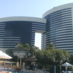 the hotel from around the swimming pool