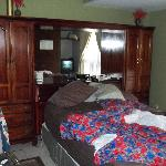 The Bedroom we slept in on Trip #2 - this bed sleeps good.