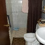 Bathroom with good shower pressure and all supplies you need.