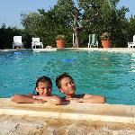 Masseria Cesarina / the pool
