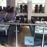110 seats modern decor Indian 'desi' fusion cuisine