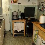 This is the kitchen in the B&B