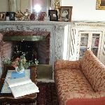 Part of the lovely  living room in the B&B