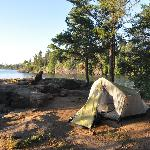All campsites have been tastefully chosen with expansive lakeviews