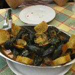 Warm seafood appetizer-Best dish in Italy